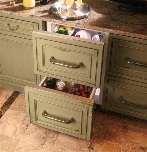 zidihii ge monogram double drawer refrigerator module
