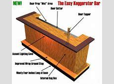 EHBP03 Wet Bar with Keg Box Barplancom
