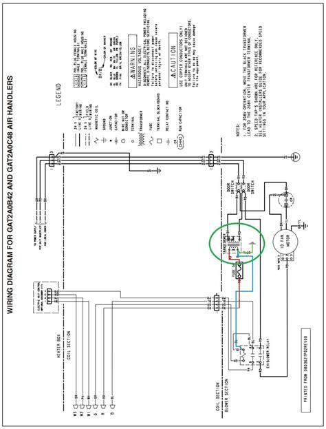 Trane Ac Wiring Diagram by Trane Air Handler Wiring Diagram Hvac With