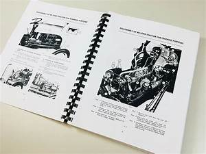 Ford 8n Tractor Service Repair Manual Technical Shop Book