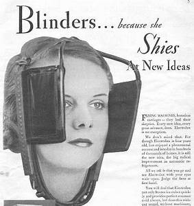 Horse Blinders For Humans
