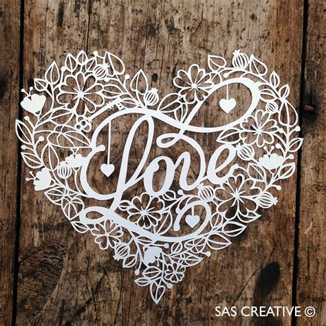 Paper Cutting Templates For by Sas Creative Papercutting Template