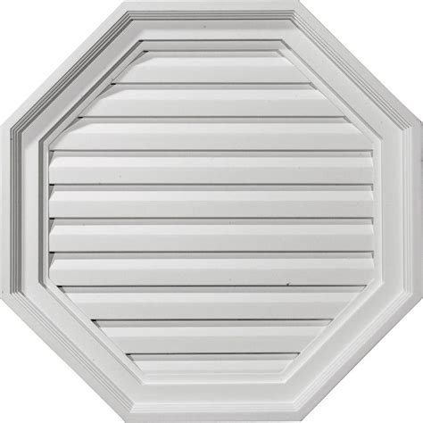 decorative gable vents products ekena millwork 2 1 8 in x 22 in x 22 in decorative