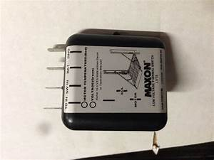Maxon 905291 Low Voltage Thermal Switch By Maxon