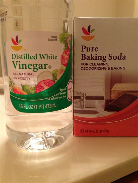 clogged sink vinegar baking soda pin by angelica langford on life savers 0 pinterest