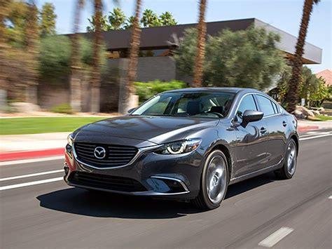 Midsize Sedan Comparison 2016 Mazda6  Kelley Blue Book