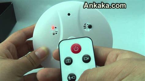 smoke detector  hidden camera waterproof night