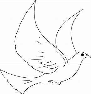 turtle dove drawing clipart best With turtle dove template