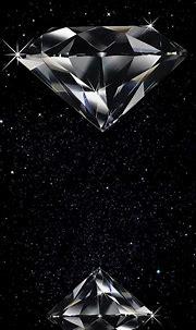 Diamond   Black diamond wallpaper, Diamond wallpaper ...