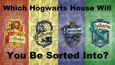 hogwarts house    harry potter quiz youtube