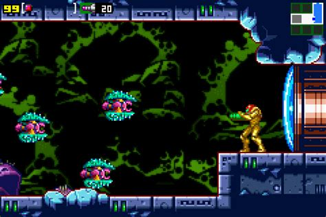 screenshots metroid  mission metroid recon