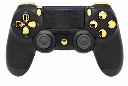 Ps4 Controller Playstation Controllers Chrome Dualshock Goud