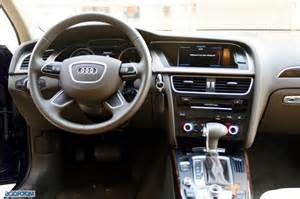 Audi a4 interior photos india