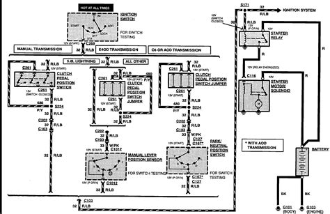 Ford Fuel System Electrical Diagram