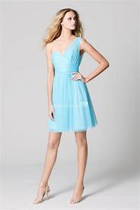 light blue bridesmaid dress ipunya With blue cocktail dresses for wedding