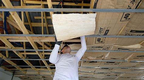 hauteur table de cuisine isolation phonique acoustique du plafond bien isoler le plafond