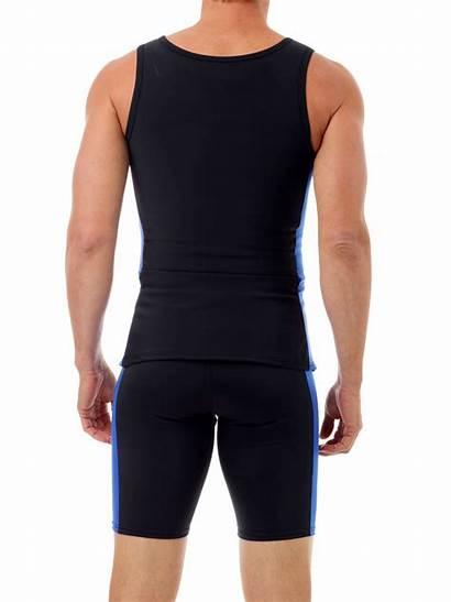 Swim Sleeveless Compression Mens Swimwear Underworks Shirts