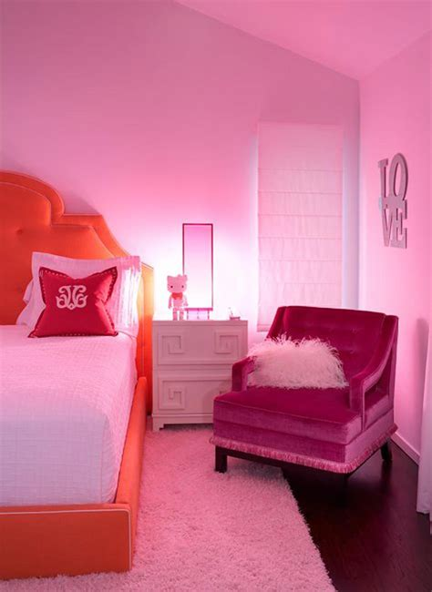 10 Perfect Pink Bedrooms Design*sponge