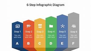 Free 6-step Infographic Diagram For Powerpoint