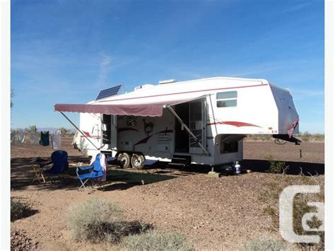 rv  wheel trailer ford  truck   combo great