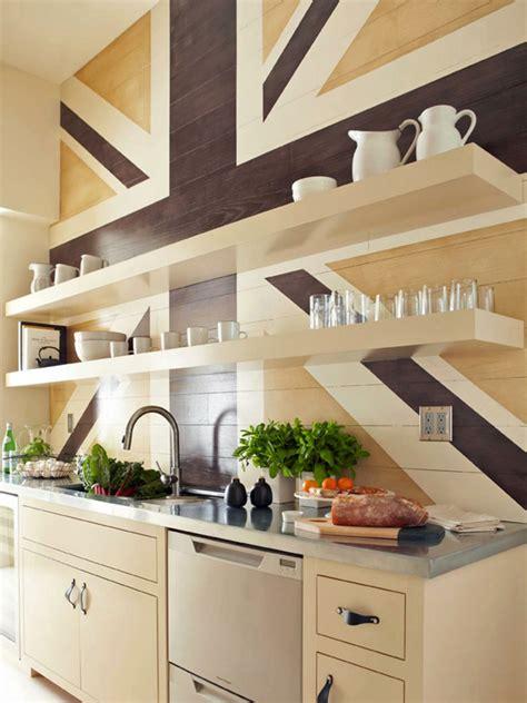 deco murale cuisine déco mur cuisine 50 idées pour un décor mural original