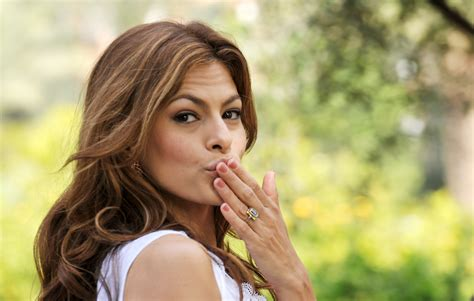 Eva Mendes Takes Her First Selfie Instagram