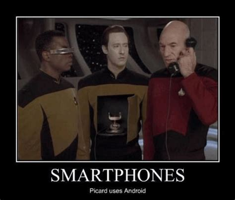 Smartphone Meme - captain picard s smartphone churchmag