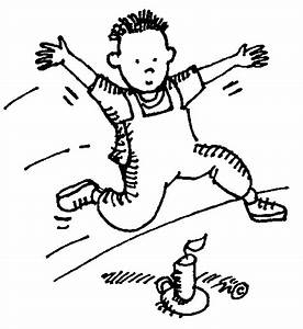 Jump Black And White Clipart - Clipart Suggest