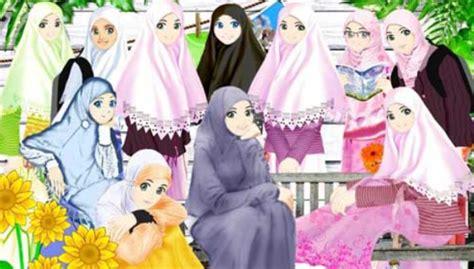Wanita Dewasa Dalam Islam Aneka Gambar Kartun Anak Muslim