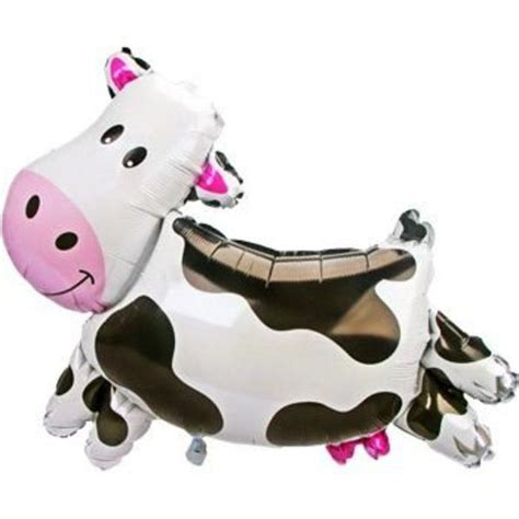 Cowhide Balloons by Cow Balloon Mylar Cow Balloon Decoration