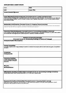 danielson model lesson plan template by dotdotdot tpt With danielson lesson plan template doc