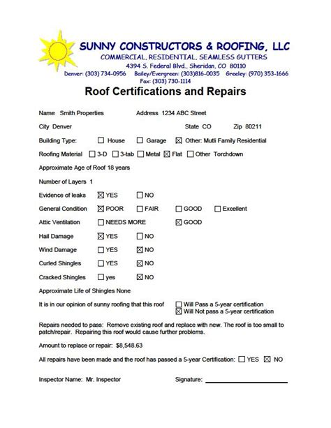 roof certifications warranties residential