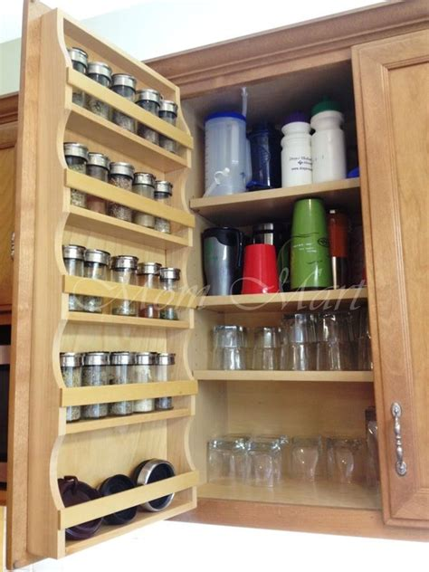 cabinets  hardware custom spice rack