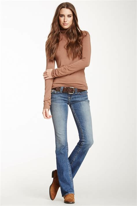 1000+ images about What to Wear With Bootcut Jeans on Pinterest | Black sweaters Purple ...