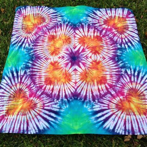 Heart Mandala 42x45 Tie Dye Tapestry Mandalas Dyes