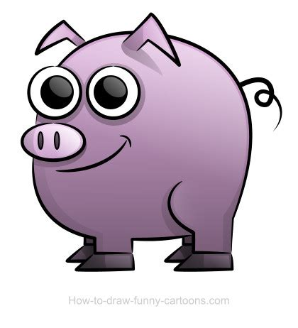 pig drawing sketching vector