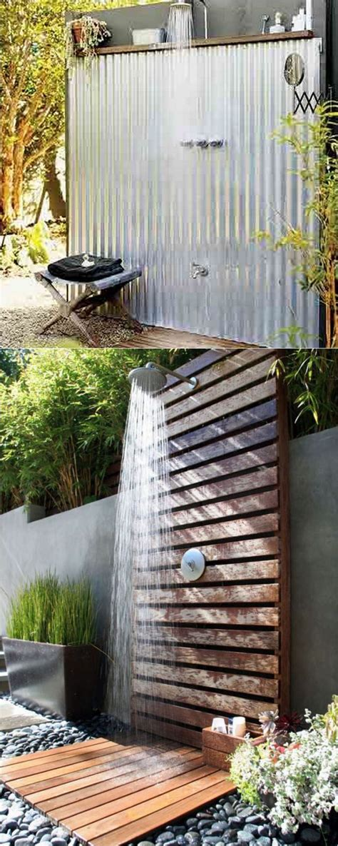 best 25 outdoor shower enclosure ideas on pinterest