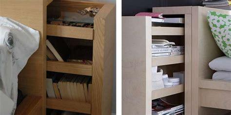 headboard  open shelves   hidden pull  storage