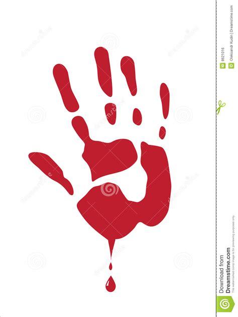 blood palm  white royalty  stock image image