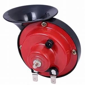 Free Shipping 1 Pair 12v Snail Shape Car Horn Loud Car Auto Truck Electric Vehicle Horn Sound