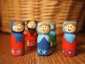 handmade christmas matryoshka baboushka or kokeshi ornaments or necklace random creativity