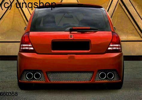 Rear Bumper Renault Clio Mk2