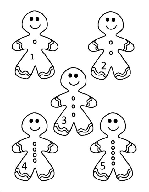 gingerbread man counting set   baby coloring pages butterfly coloring page people coloring