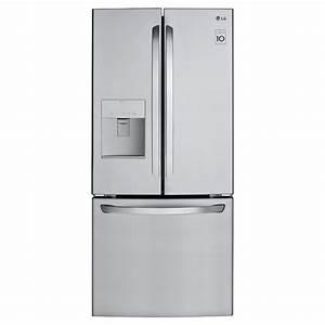 Refrigerateur Distributeur D Eau : lg r frig rateur avec distributeur d 39 eau 21 8 pi inox ~ Melissatoandfro.com Idées de Décoration