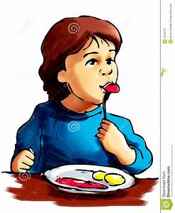 Boy Eating Dinner Clipart (28+)