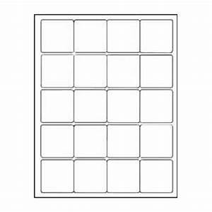 amazoncom 12 sheets 240 2quotx2quot inch square white With avery 2x2 square labels