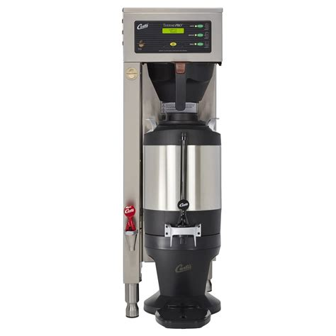 View tpc2s document online or download in pdf. Curtis TP15S63A1100 High-volume Thermal Coffee Maker - Automatic, 10 gal./hr, 120/220v