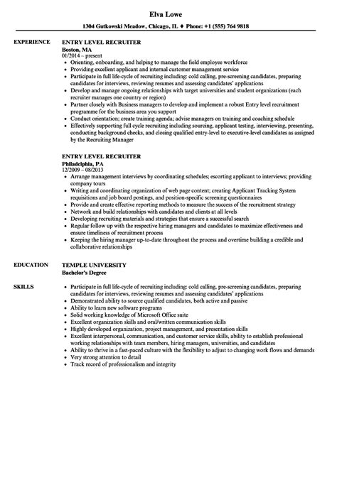 resume title exles for entry level best resume templates