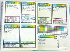 Bullet Journal Weekly Layout Ideas Sublime Reflection