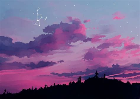 pink sky aesthetic pc wallpapers
